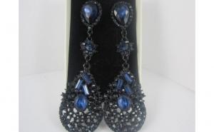 Cercei Luxury Crystal Blue