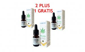 Pachet ulei de Canepa cu cannabidiol 2%, Oncoforte CBD ULTRA Basic 2%, 30 ml
