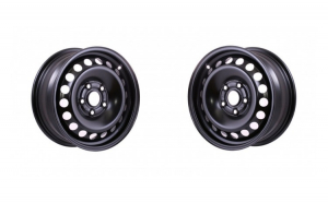 Set 2 Jante otel VW Volkswagen Cross Polo 2002 2009 6Jx15  H2  5x100x57  ET38