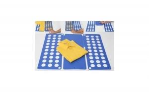 Plansa pentru impaturit tricouri si camasi din 3 miscari, la numai 34 RON in loc de 137 RON