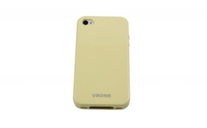 Husa Vrone pvc - IPHONE 4/4S - Crem