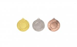 Medalii 3 bucati - 5 cm, material Otel