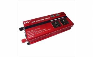 Invertor Auto 1000W cu Display Dublu 4 USB si 2 Iesiri 220V CEJ