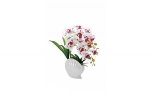 Floare orhidee artificiala in ghiveci