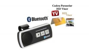 Car kit Bluetooth + cadou Parasolar auto tip vizor zi si noapte - Visor HD la doar 89 RON in loc de 179 RON
