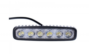 Proiector LED 18W corp aluminiu, 6 leduri x 3W, la numai 99 RON de la 189 RON