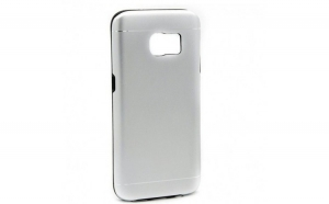Husa Samsung Galaxy S7 Motomo V2 Argintiu