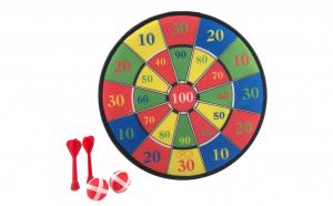 Set joc darts cu tinta Velcro si accesorii SD07