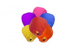Set 10 bucati lampioane colorate