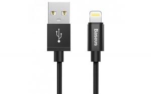 Cablu de date/incarcare Baseus, Simple version, Cablu lightning, 1 m, Negru