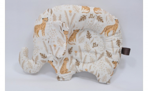 Pernuta semiplata forma elefant modele