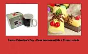 Cadou Valentine's, cana termosensibila + prosop rulada la doar 49 RON in loc de 99 RON