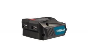 Adaptor USB Erbauer, 1.8Ah, 18v