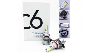 Kit becuri led auto cree C6 H11/H8/H9