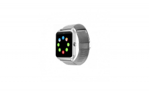 Smartwatch GT08, curea metalica,