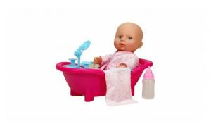 Papusa bebelus cu accesorii