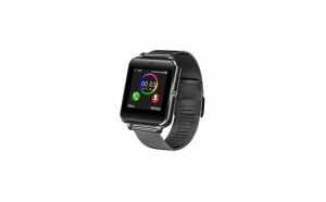 Smartwatch GT08, curea metalica, negru