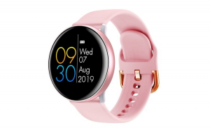 Ceas Smart Watch, Colmi Sky 2, Roz, Display Digital, Rotund