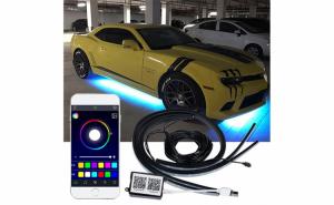 Lumina 4 benzi APP Control RGB LED Strip, Cyber Sales 2019, 50-100 lei