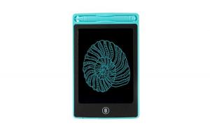 Tableta de scris, albastra, 23.5x14.5x0.9 cm
