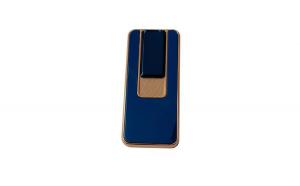Bricheta electrica, incarcare USB, Albastru, B005
