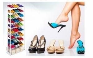 Suport de pantofi, elegant si foarte practiccu 10 rafturi, la doar 49 RON in loc de 139 RON