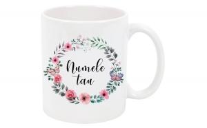 Cana cu nume personalizata, ceramica, Ziua indragostitilor, Voi doi