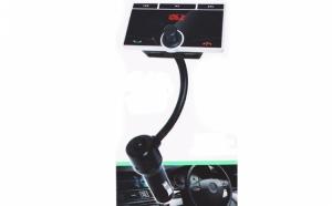 Modulator FM cu Bluetooth, profesional, cu telecomanda