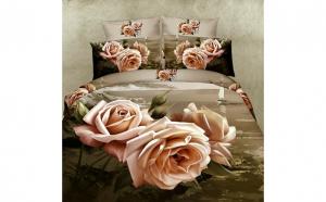 Lenjerie 3D modele florale romanesti