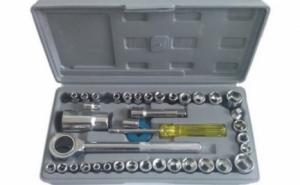 Rezolva singur micile probleme tehnice! Trusa cu 40 de chei tubulare