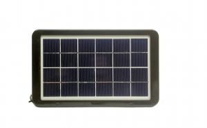 Panou solar portabil, pentru incarcare telefoane USB 3,5W/6V, IP65