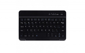 Tastatura Wireless Techstar®  Bluetooth 3.0  Acumulator  Compatibila Android/Windows/Mac  Slim
