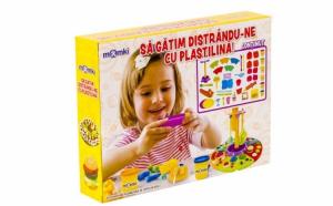 Set pasta de modelat - Sa gatim distrandu-ne cu plastilina