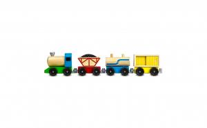 Tren de marfa 50 cm din lemn
