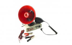 Portavoce megafon auto, 12V, 25W, inregistrare, suport magnetic HN230