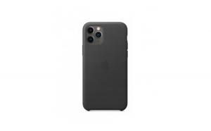 Husa de protectie din piele, iPhone 11 Pro Max, negru