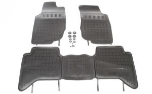 Set covorase cauciuc stil tavita - Toyota Hilux VII 10.05- Rezaw