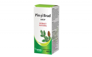 Sirop de muguri de pin și brad Viva