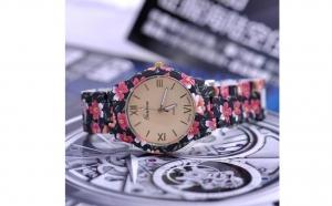 Ceas Geneva- negru, la 69 RON in loc de 178 RON