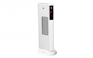 Aeroterma ceramica turn ECG KT 200, DT white, 1200/2000 W, mod ECO, oscilatie, LCD, termostat