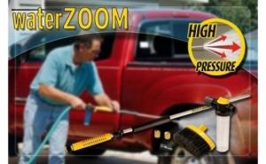 Dispozitiv de curatare pentru casa si gradina Water Zoom, atasabil la orice furtun