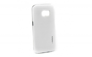 Husa Samsung Galaxy S7 Edge Motomo V5 Alb