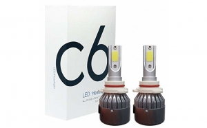 Kit becuri led C6 - HB4/ 9006, Iluminare inteligenta