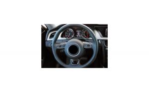 Husa volan compatibila AUDI AA5 cu gaurele