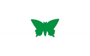 Sticker cu fluture