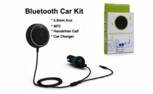 Receiver auto cu Bluetooth pentru iOS, Android si Windows, functie NFC
