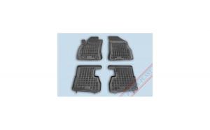 Covorase presuri cauciuc Premium stil tavita Fiat Doblo II 2010-2019
