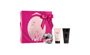 Set Lancome, Tresor La Nuit, Femei: Apa de Parfum, 50 ml + Lotiune de corp, 50 ml +Gel de dus,50ml