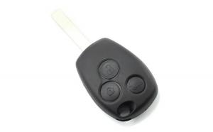 Dacia / Renault - Carcasa cheie cu 3