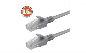 Cablu Patch8P/8C Cat.5 - 0,5 m